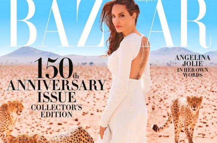 Η Αντζελίνα Τζολί στο Harper's Bazaar από τη Ναμίμπια | to10.gr