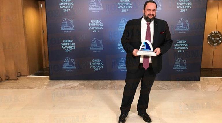 Βαγγέλης Μαρινάκης : Προσωπικότητα της χρονιάς στην ελληνική ναυτιλία   to10.gr