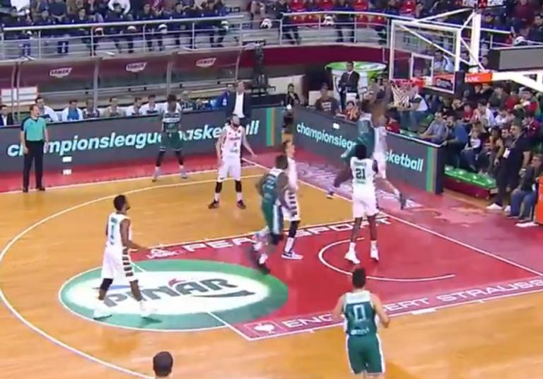 Basketball Champions League : Η πτήση του Πιέρ (vid)   to10.gr