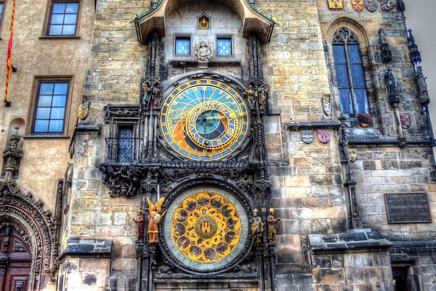 Αποτέλεσμα εικόνας για Αστρονομικό Ρολόι της Πράγας