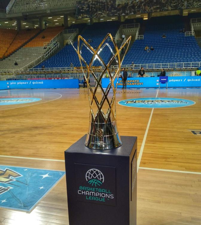 Η κούπα του Basketball Champions League στο ΟΑΚΑ (pics) | to10.gr