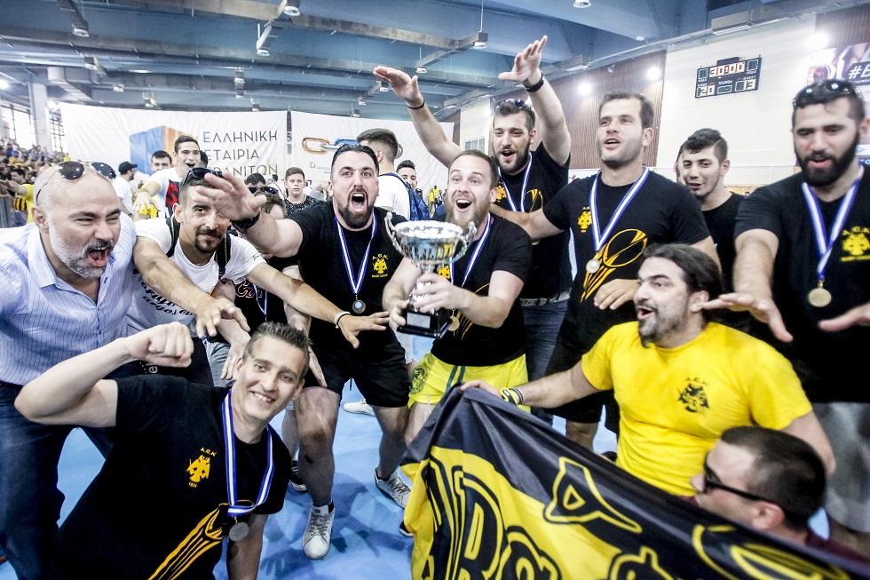 ΑΕΚ: Αποθέωση για την ομάδα ράγκμπι (pics)   to10.gr