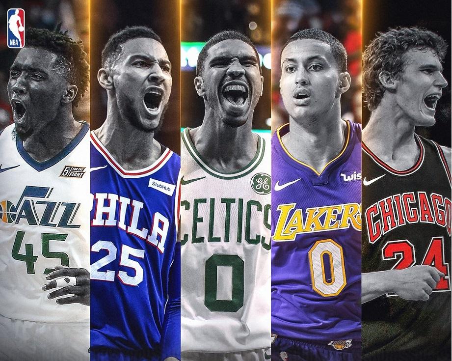 NBA : Οι καλύτερες ρούκι πεντάδες (pics) | to10.gr