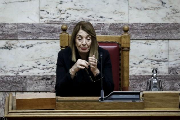 Διεγράφησαν από τα πρακτικά τα σχόλια Κασιδιάρη για την Τασία Χριστοδουλοπούλου | to10.gr