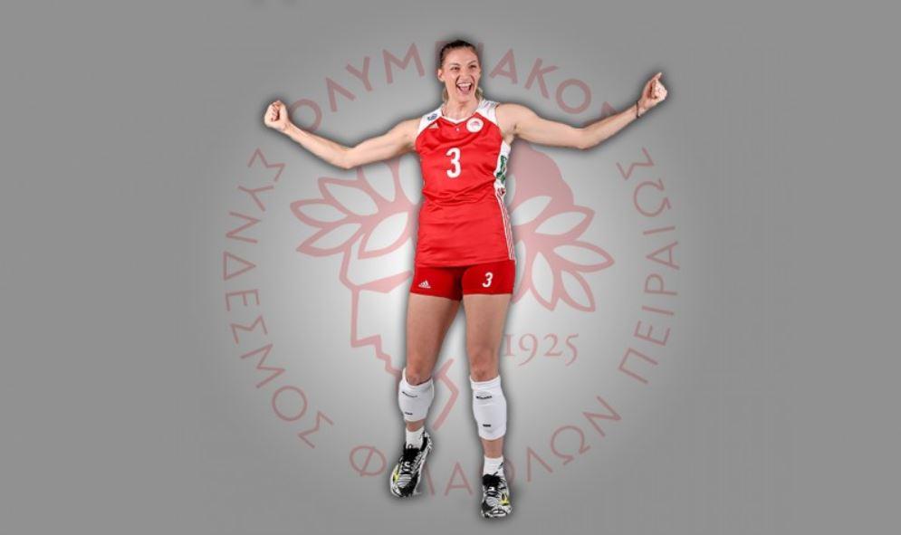 Ολυμπιακός : Ανανέωσε η Μαρία Νομικού   to10.gr