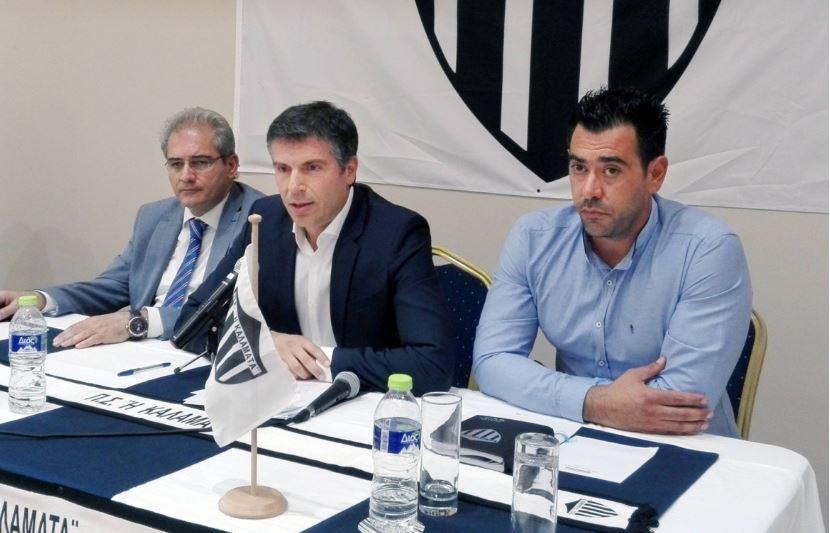 Χριστόπουλος : «Η Καλαμάτα είναι το DNA μας και μας γεμίζει υπερηφάνεια» | to10.gr