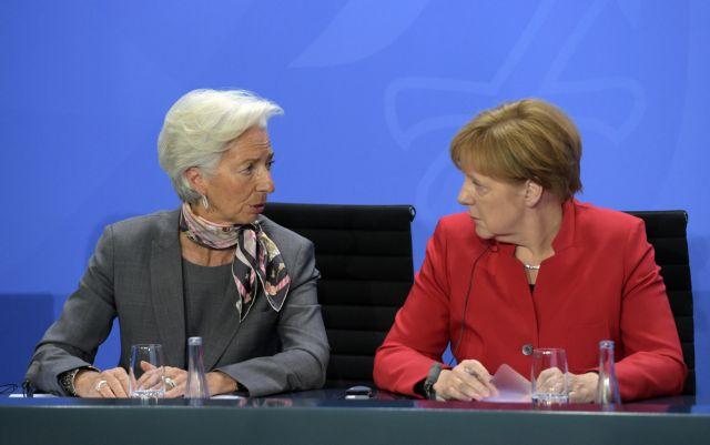 Το ελληνικό χρέος στην ατζέντα της συνάντησης Μέρκελ – Λαγκάρντ | to10.gr