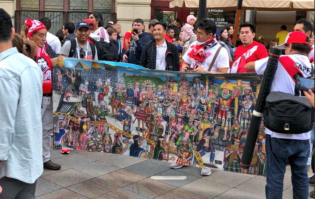 Μουντιάλ : Κατέκλυσαν την κόκκινη πλατεία οι Περουβιανοί | to10.gr