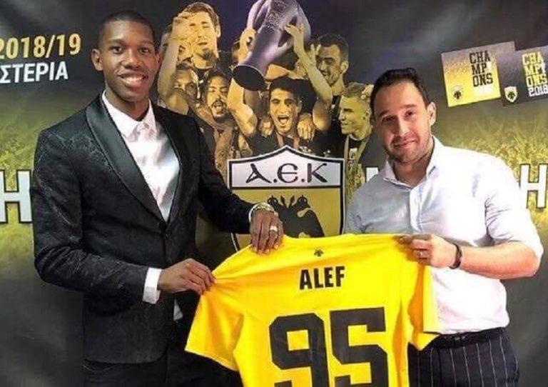 Ανακοίνωσε τον Άλεφ στην ΑΕΚ ο μάνατζέρ του (pic) | to10.gr