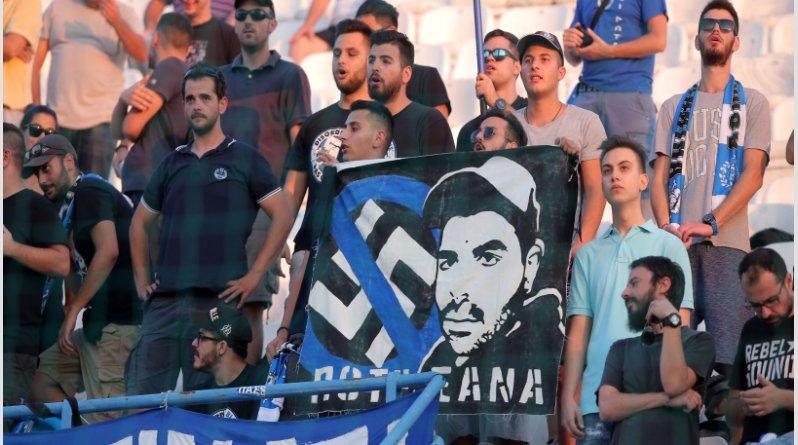 Πανό στη μνήμη του Παύλου Φύσσα σήκωσαν οι οπαδοί του ΠΑΣ Γιάννενα! (pics) | to10.gr