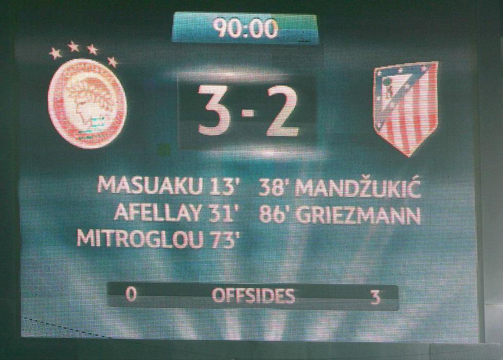 Ολυμπιακός – Ατλέτικο Μαδρίτης 3-2: Νύχτα μαγική, ονειρεμένη (pics, vids)   to10.gr
