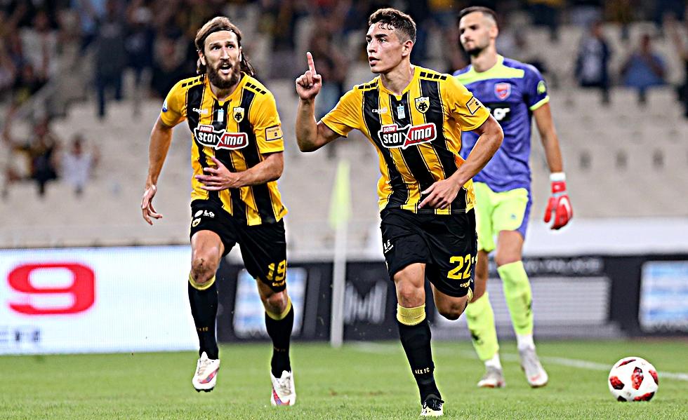 Μάνταλος σε Πόνσε και 1-0 η ΑΕΚ (vid) | to10.gr