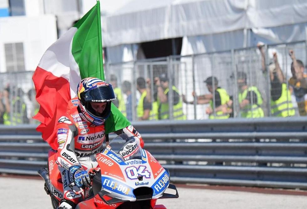 Moto GP : Θριαμβευτής ο Ντοβιτσιόζο στο Σαν Μαρίνο   to10.gr