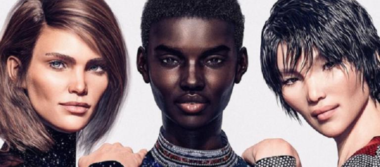 Τέλος στα πραγματικά μοντέλα; Ο γαλλικός οίκος μόδας Balmain λανσάρει τη νέα του κολεξιόν με ψηφιακά μοντέλα   to10.gr