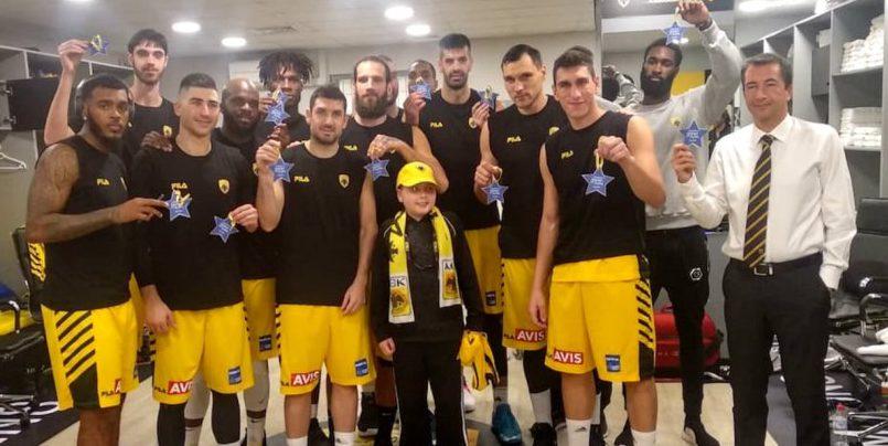 ΑΕΚ: Έκανε πραγματικότητα την ευχή του μικρού Κωνσταντίνου! | to10.gr
