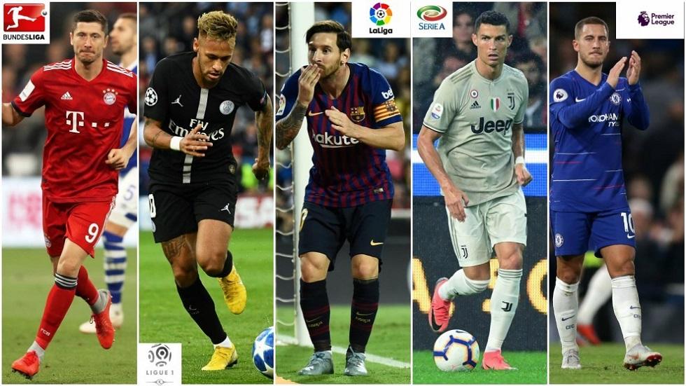 Οι All-Star ενδεκάδες των πέντε κορυφαίων ευρωπαϊκών πρωταθλημάτων | to10.gr