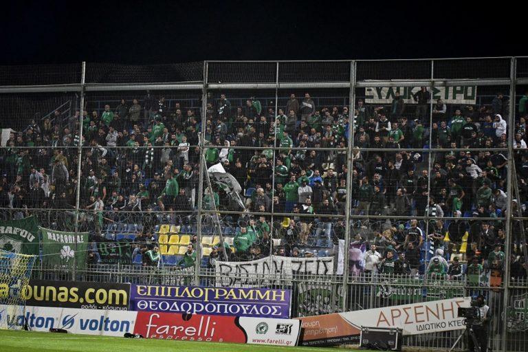 Πράσινο… τσουνάμι: Περισσότεροι από 3.000 οπαδοί του Παναθηναϊκού στο «Θ. Κολοκοτρώνης» (vid) | to10.gr