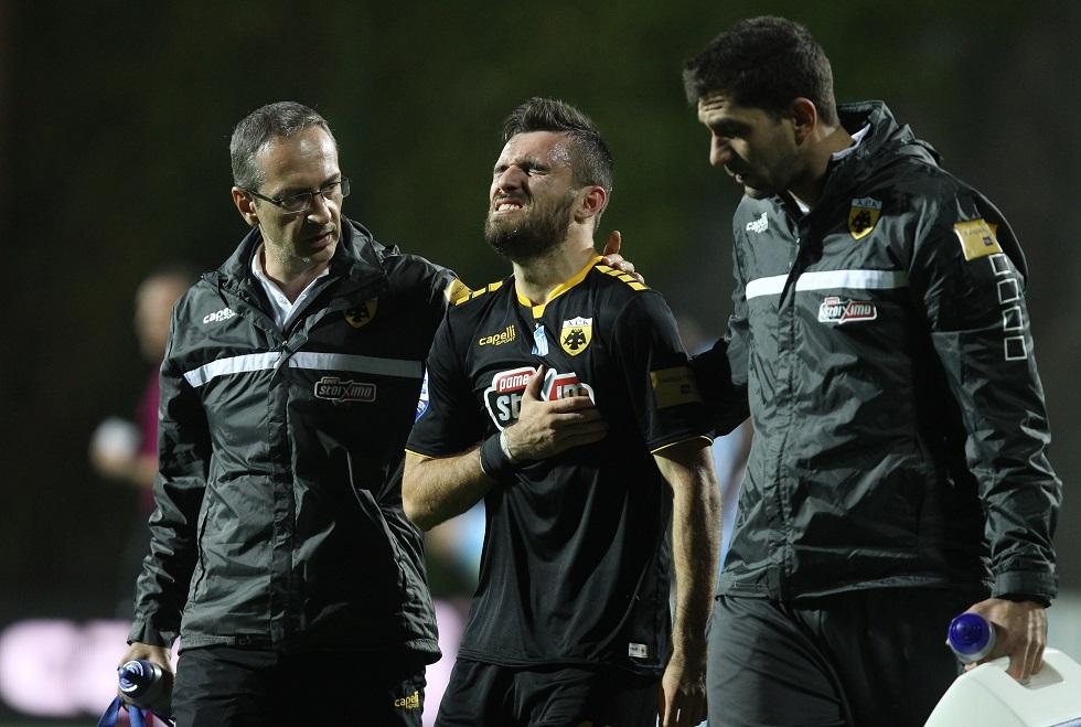 AEK: Σοβαρός τραυματισμός Γιαννιώτα στο στέρνο και στα πλευρά | to10.gr