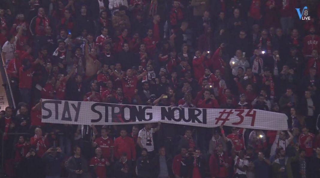 Απίστευτη χειρονομία των οπαδών της Μπενφίκα: «Μείνε δυνατός Νούρι» (pics) | to10.gr