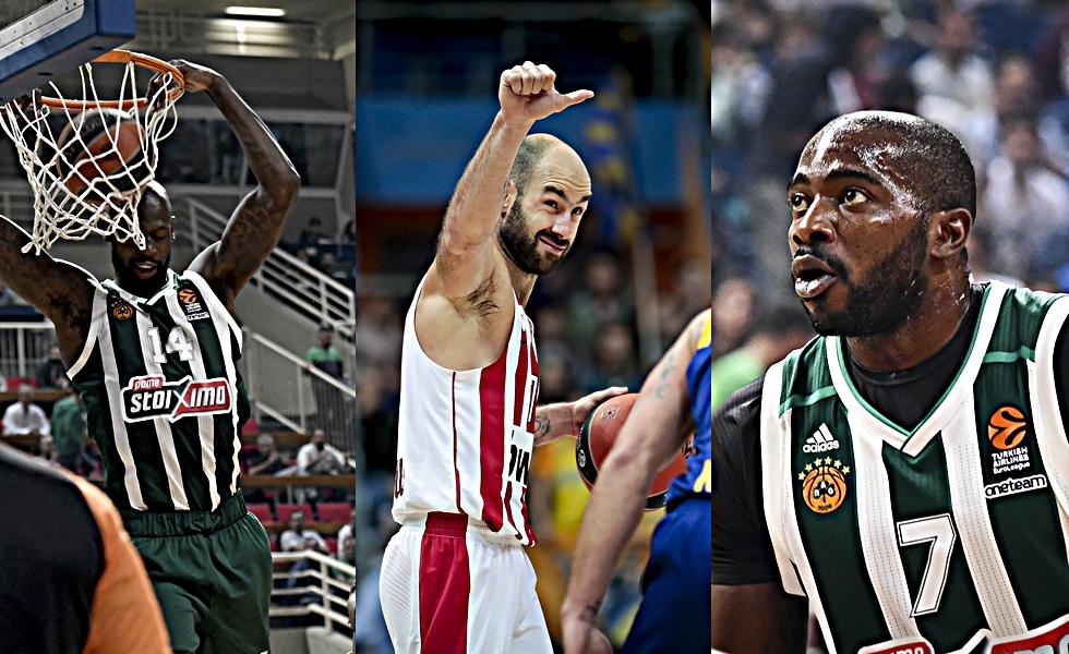 Σπανούλης, Λάσμε και Γκιστ στο top 10 της Euroleague (vid) | to10.gr