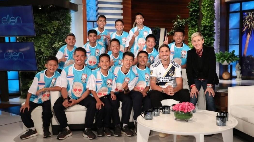 Η έκπληξη του Ιμπραΐμοβιτς στα 12 παιδιά που διασώθηκαν στην Ταϊλάνδη (vid) | to10.gr