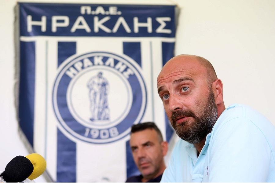 Ηρακλής: Μια αγωνιστική στην εξέδρα ο Παύλος Μυροφορίδης | to10.gr