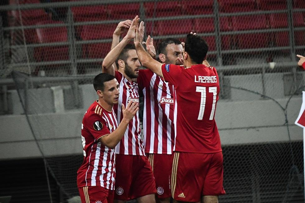 «Πολυβόλο» ο Ολυμπιακός: 3-0 με φανταστικό βολ πλανέ του Λάζαρου (vids) | to10.gr