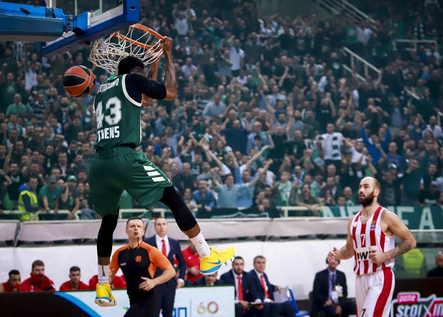 Ο… ιπτάμενος Θανάσης στην κορυφή του TOP 10 της Euroleague | to10.gr