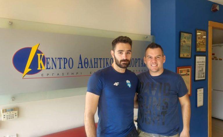 Ιακωβίδης: «Είμαι χαρούμενος για το Πανελλήνιο ρεκόρ»   to10.gr