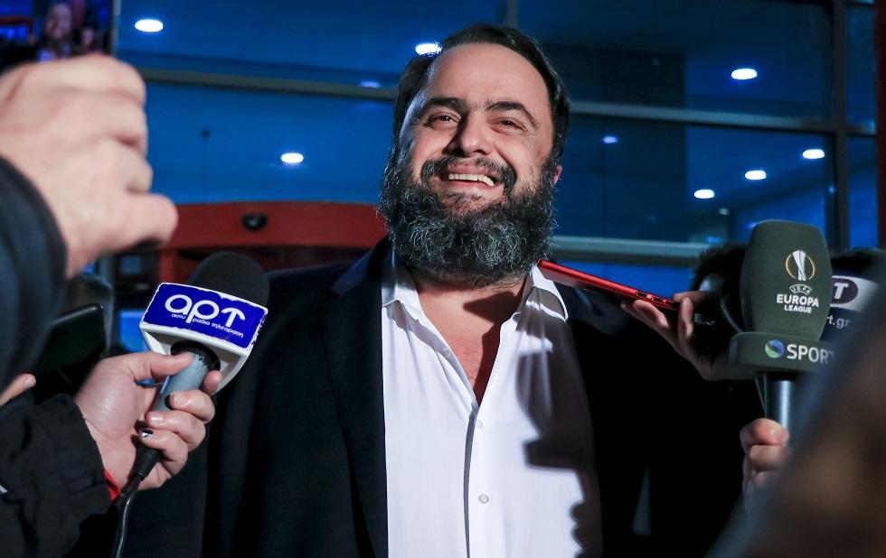Μαρινάκης : «Ενωμένοι σαν γροθιά, συνεχίζουμε να ονειρευόμαστε» | to10.gr