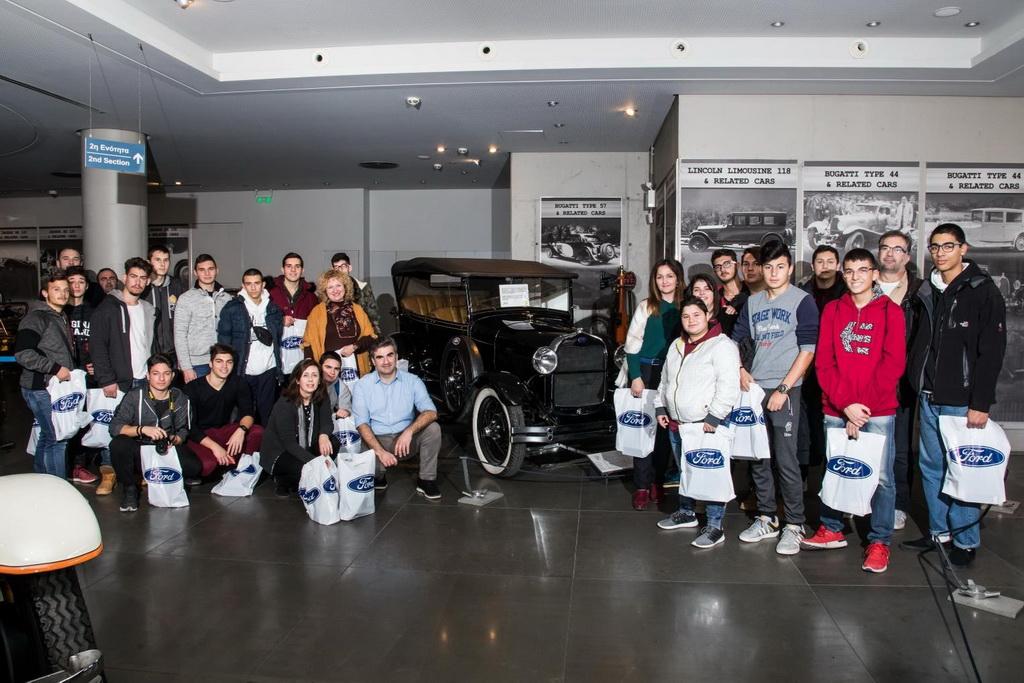 Με τους μηχανολόγους του αύριο η Ford Motor Ελλάς | to10.gr