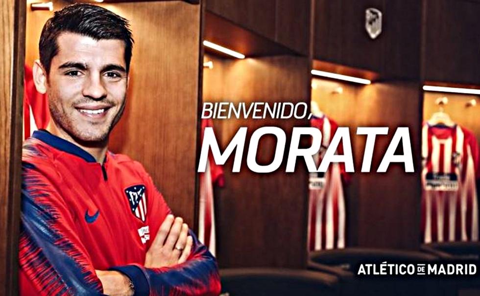 Παίκτης της Ατλέτικο και επίσημα ο Μοράτα | to10.gr