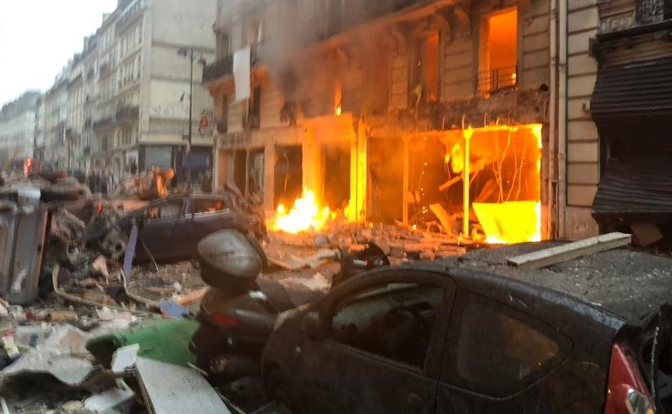 Ισχυρή έκρηξη στο κέντρο του Παρισιού – Αναφορές για τραυματίες | to10.gr