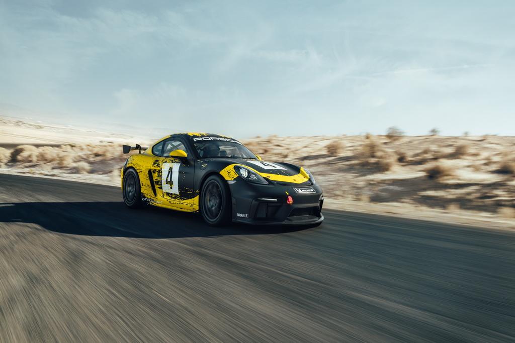 Porsche 718 Cayman GT4 Clubsport | to10.gr