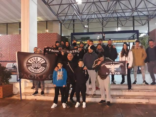 Πόλος έλξης η αποστολή του ΠΑΟΚ στο αεροδρόμιο της Καλαμάτας (pics)   to10.gr