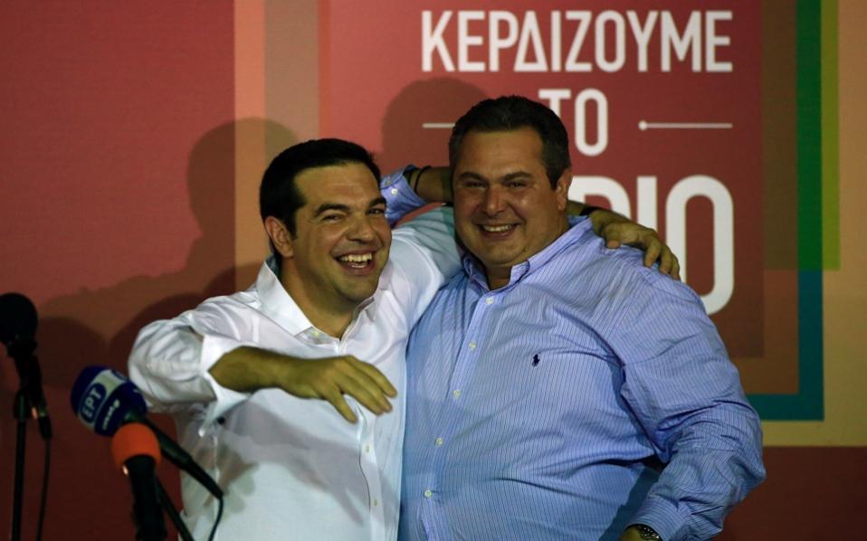 Ο Τσίπρας μια χαρά τα είχε βρει με τον εθνικιστή Καμμένο και τις «δουλειές» του | to10.gr
