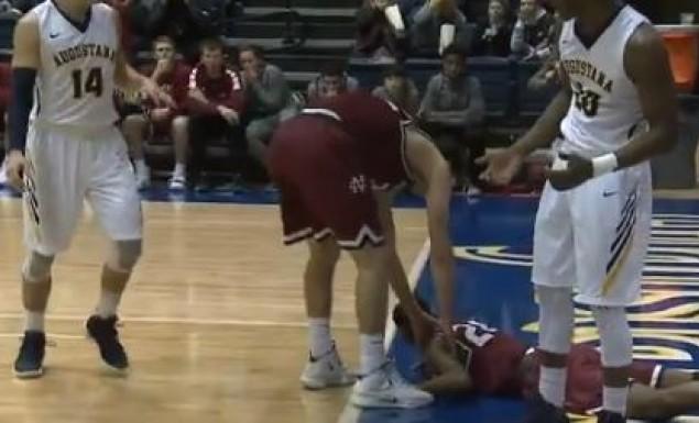 Σοκαριστικό χτύπημα παίκτη στο NCAA (vid) | to10.gr