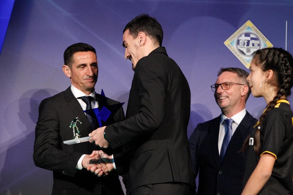 Κορυφαίος Έλληνας της Super League ο Λάζαρος | to10.gr