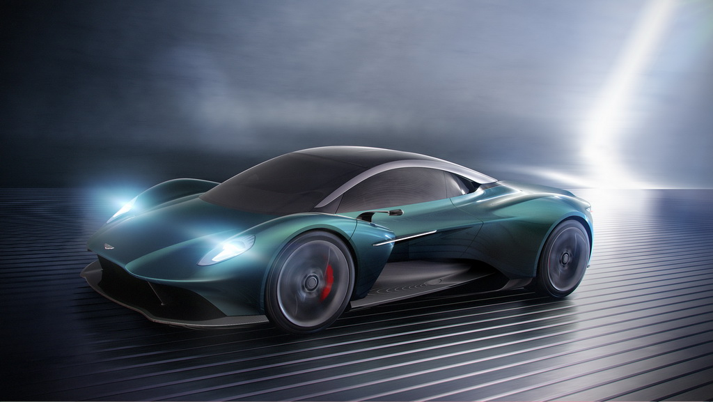 Aston Martin Vanquish Vision Concept | to10.gr
