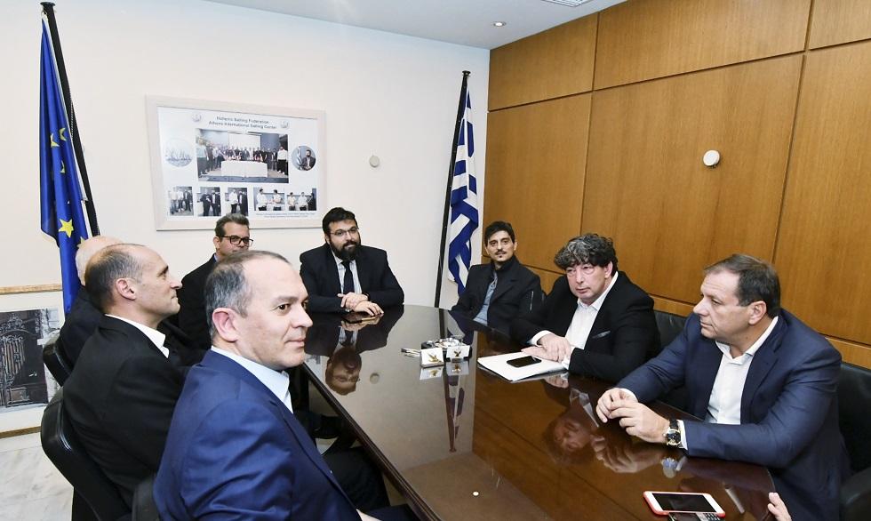 Ολοκληρώθηκε η σύσκεψη στο γραφείο του Βασιλειάδη | to10.gr