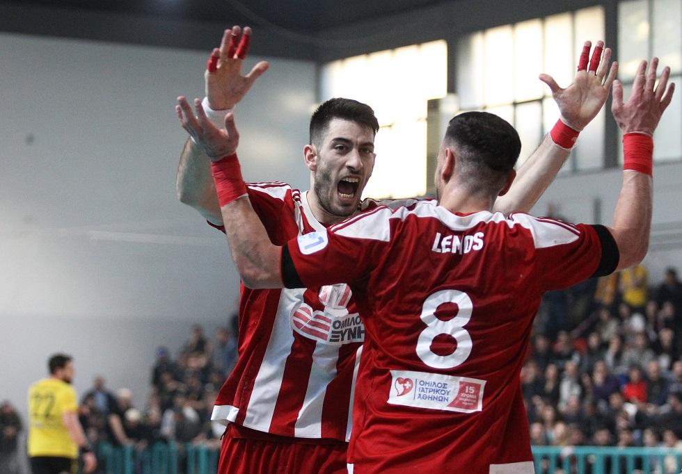 Ολυμπιακός – ΑΕΚ 23-13 | to10.gr