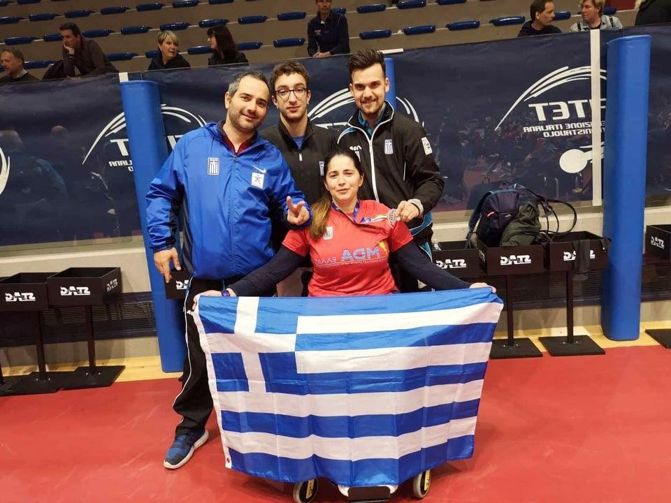 Πινγκ πονγκ: Ασημένιο μετάλλιο η Μπούσιου στο ομαδικό του ιταλικού όπεν για Α.με.Α. | to10.gr