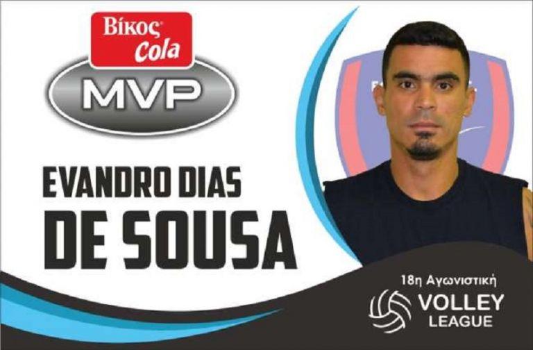 Ο Εβάντρο του Φοίνικα MVP της 18ης αγωνιστικής   to10.gr