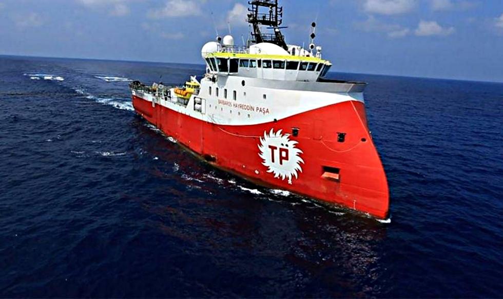 Επεισόδιο : Το Barbaros απείλησε πλοία στην κυπριακή ΑΟΖ | to10.gr