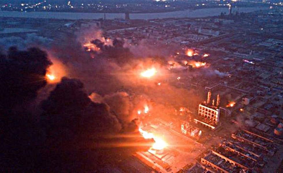 Κίνα : Στους 44 οι νεκροί από την έκρηξη στο χημικό εργοστάσιο   to10.gr