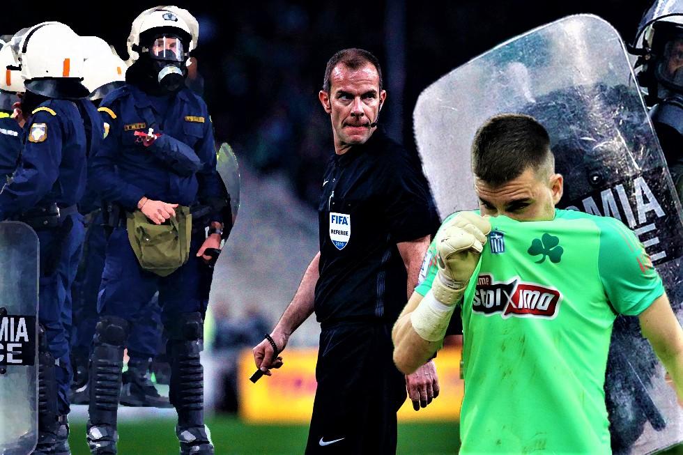 Οριστική διακοπή εξαιτίας των οπαδών του Παναθηναϊκού στο ντέρμπι | to10.gr