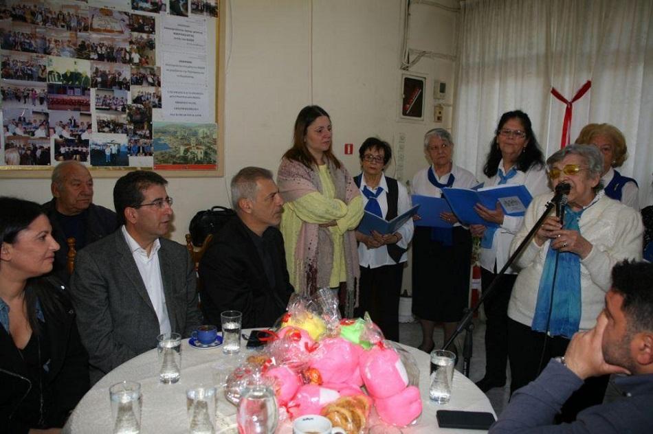 Ο Γιάννης Μώραλης σε εκδηλώσεις των Κέντρων Αγάπης & Αλληλεγγύης του Πειραιά για το Πάσχα | to10.gr