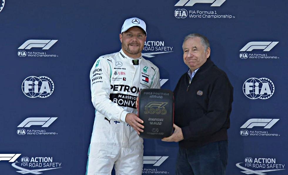 Grand Prix Κίνας: Κυρίαρχος ο Μπότας, «1-2» η Mercedes | to10.gr