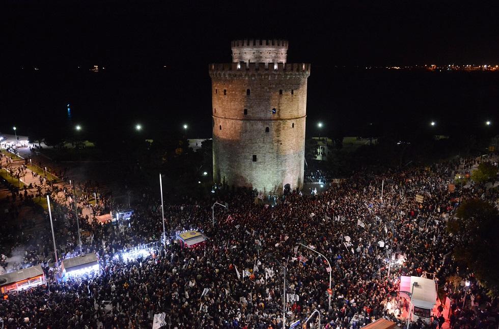 Η Θεσσαλονίκη στις φλόγες για τον ΠΑΟΚ! (video) | to10.gr