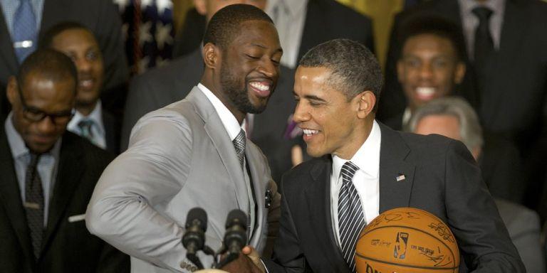 Ομπάμα: «Ουέιντ συγχαρητήρια για την τρομερή καριέρα σου» (vid) | to10.gr